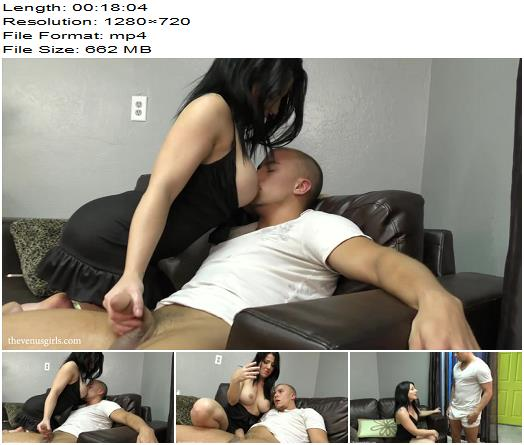 The Venus Girls - Beg Step-Sister To Cum - She'll Use Your Filth Against You - Femdom Spanking, Tattoo