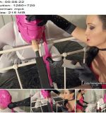 Dirty Trans Dolls – Sissy fuckdoll creation stage 1 -  Fetish Liza  - Gloves, Bondage