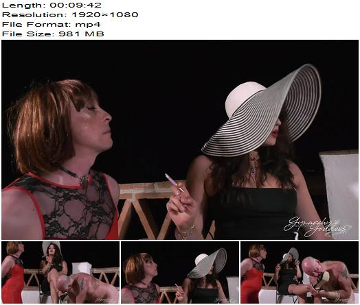 Goddess Gynarchy - Party Props (1080 HD) - Goddess Serena - Female Domination - Footlicking, Sissy Training
