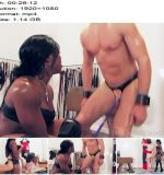 The English Mansion - Mistress Kiana - Mistress Kiana's Workout - Complete Movie - Interracial - Cane, Black