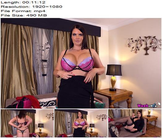 WankItNow - Kylie K - Pink Makes The Boys Wink - Instructions - Masturbation Instruction, Erect Nipples