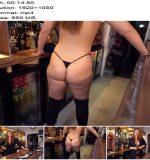 WankItNow - Mandy Foxxx - Big Step Sister's Pussy - Instructions - Shaved Pussy, Masturbation
