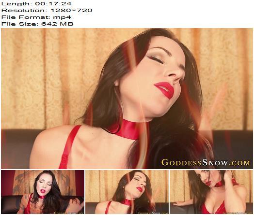 Goddess Alexandra Snow  Red Fire Trance preview