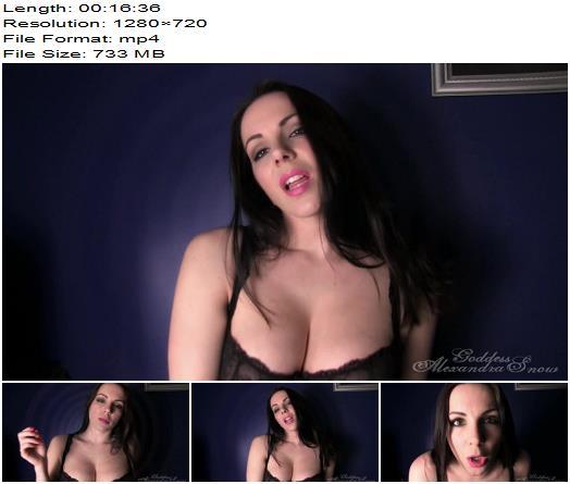 Goddess Alexandra Snow - Trance - Deep Prostate Entrancement - Mesmerize - Hypnotic, Mind Fuck