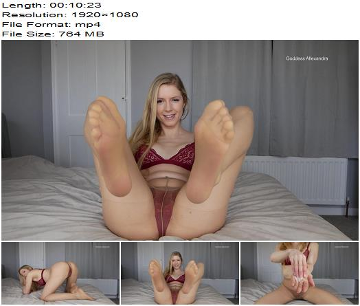 Goddess Allexandra  Swallow for me  SPH preview
