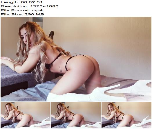 Goddess Evie - I bet you just wanna stroke your cock after I've kept you trapped - Instructions - Denial, Cocktease