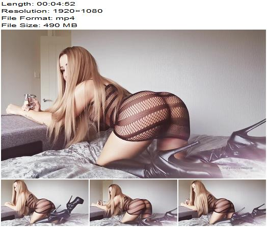 Goddess Evie - you know that you have a sad excuse for a cock! - Orgasm Control, Tease