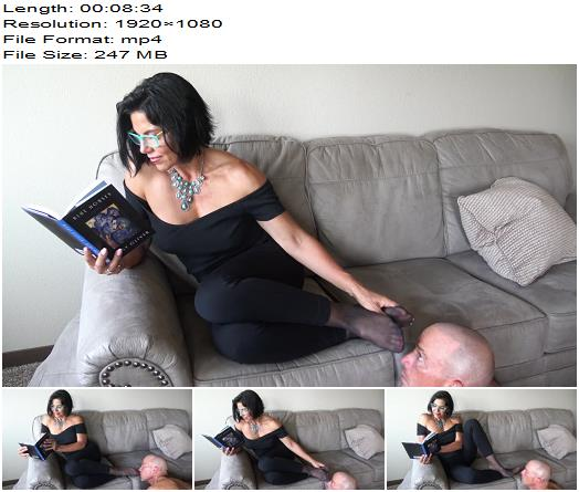 Goddess Zephy - Ignored By Nylons, Pt1 (1080 HD) - Foot Fetish - Female Domination, Ignoring