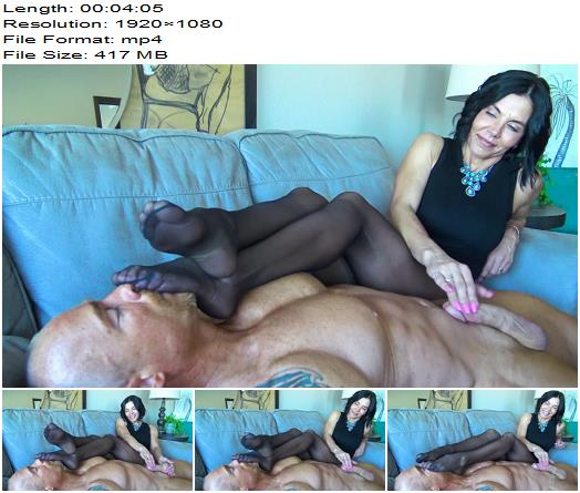 Goddess Zephy  My Smelly Nylons Are Better Than Sex For You Loser 1080 HD preview