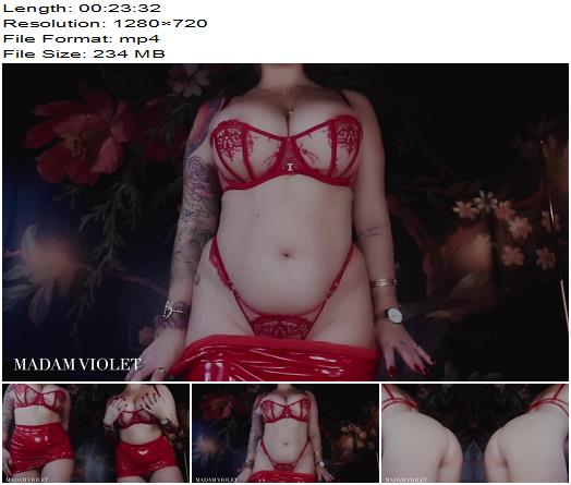 Madam Violet – Red Room Orgasms Are Always Two For One – Findom  - Mental Domination, Keep2share.cc
