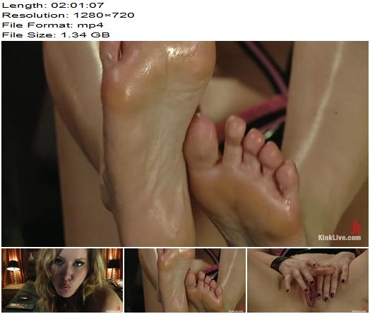 Maitresse Madeline teases and denies you while squirting and filling all her holes preview