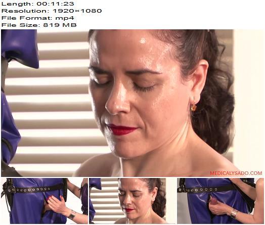 Medicaly Sado - The Submissive Guy - Lady Patricia - Bondage - Domination, Mummification
