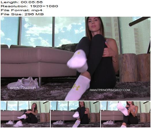 Princess Ashley  Sock Lover Custom No Names Used  Footworship preview