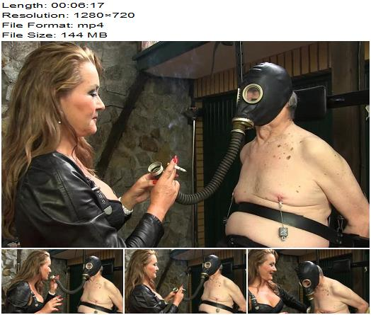 Sado Ladies  Gas Mask Training   Lady Pascal  preview