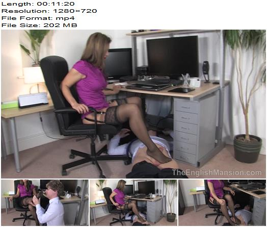 The English Mansion  Miss Jasmine  Demanding Lady Boss  Complete Movie  Foot Worship preview