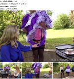 The English Mansion - Miss Suzanna Maxwell - Displayed Maid - Part 1 - Sissy - Outdoors, Female Domination