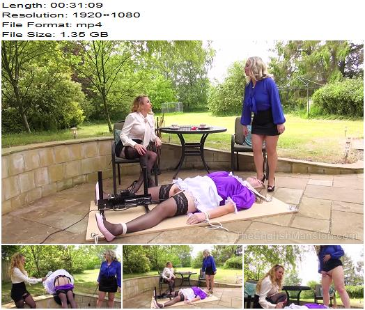 The English Mansion  Miss Suzanna Maxwell Mistress Sidonia  Displayed Maid  Complete Movie preview