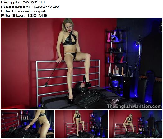 The English Mansion - Miss Suzie - Bound At Her Feet - Part 1 - Bondage - Bondage Male, Cock Cage