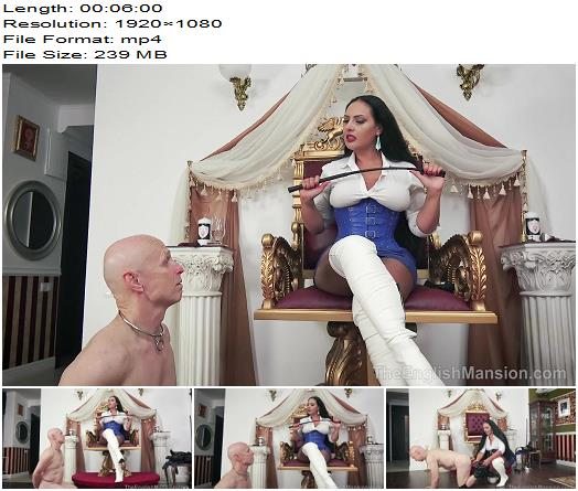 The English Mansion - Mistress Ezada Sinn - Man To Dog - Part 1 - Humiliation - Slave, Submissive