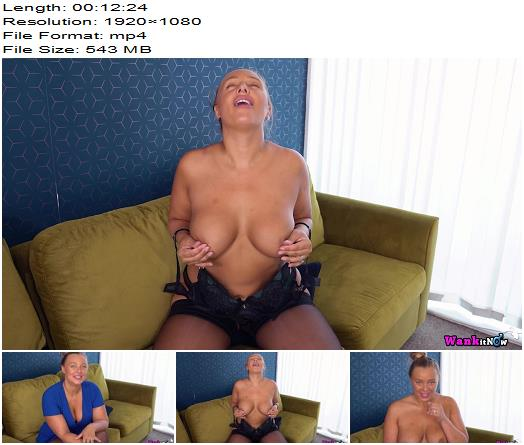 WankItNow - Beth - Hot and Bothered - Instructions - Jerk Off Encouragement, Lounge