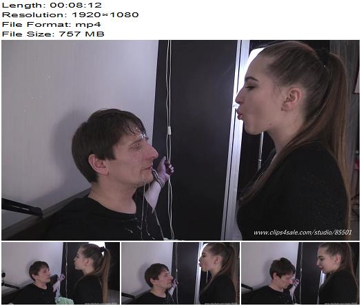 Beautiful Girls – Woooooooow amizing!Sitting in front of her pathetic male slave, she smokes a cigarette and blows smoke in his face  - Pantyhose Domination, Femdom