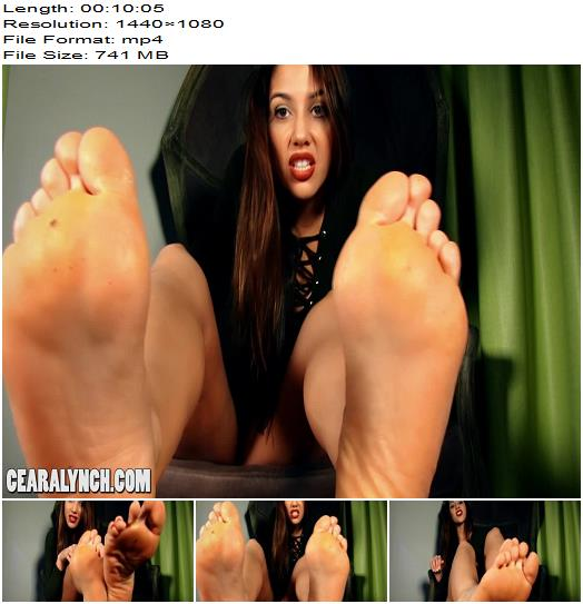 Ceara Lynch  Holy Feet  Footworship preview