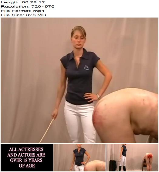 Cruel Amazons – The Lost Race – Part 2 -  Madame Larissa  - Blood, Caning