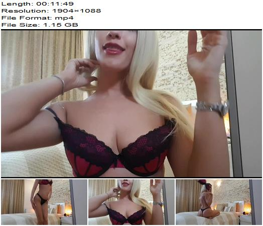 Goddess Natalie - Seductive JOI - tease and denial - Female Domination, Jerkoff Command