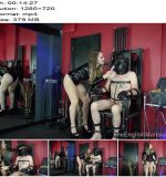Goddess Serena in video 'Tormented In The Chair – Complete Film' of 'The English Mansion' studio  - Keep2share, Torture