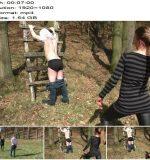 Lady Krasaviza – Er hat Rücken  - Download, Femdom Spanking