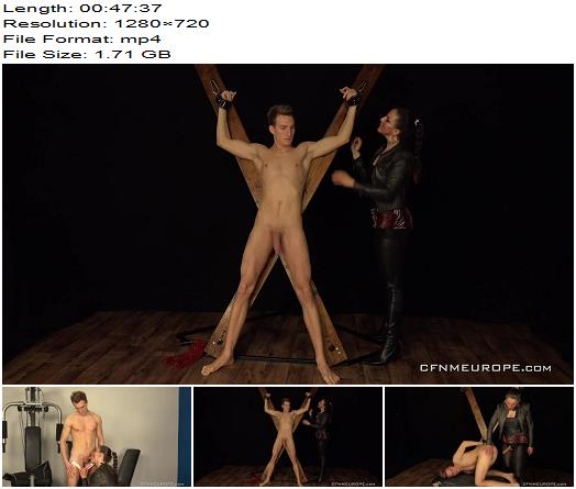 Matej Borzik starring in video 'Wild Beast (Interrupting his Workout and Dominating his Ass)' of 'Kink' studio  - Pegging, Anal Play