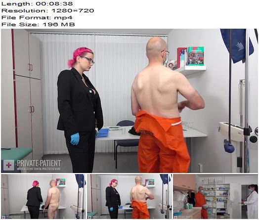 Private-Patient - Sex Offender - Part 2 - Medical Femdom - clinic, Interview
