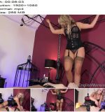 The English Mansion - Mistress Courtney - Courtney's Nylon Pet - Part 1 - Nylons, Bondage