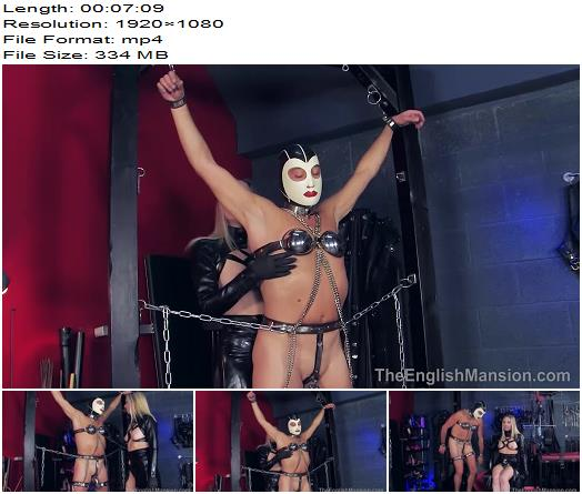 The English Mansion - Mistress Sidonia - Locked In Total Chastity - Part 1 - Chastity Male, Cock Locked