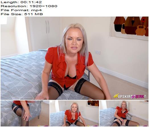 UpSkirt Jerk - Secretary Of Sex - Instructions - Stockings, Frankie