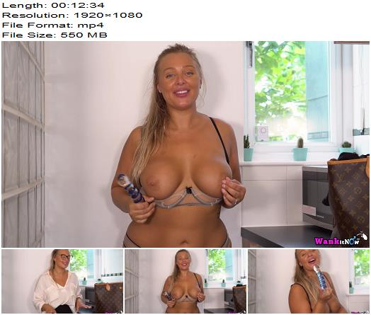 WankItNow  Beth  Wanking in The Office  Instructions preview