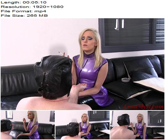Anna Myst - My Slave Is My Human Ashtray - Smoking - Smoke Fetish, Female Domination