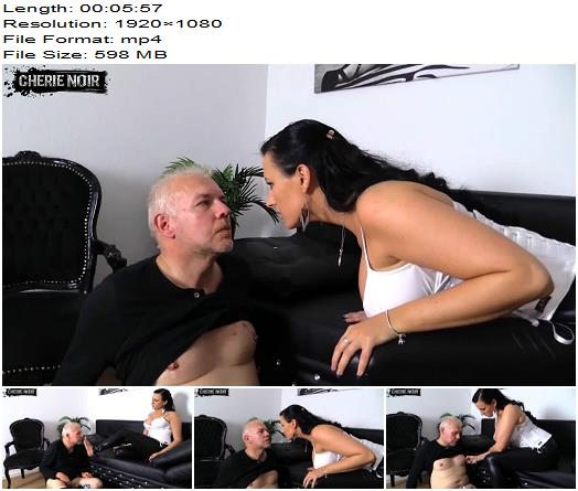 Cherie Noir  Nasty chastity belt Quickie More you do not deserve preview