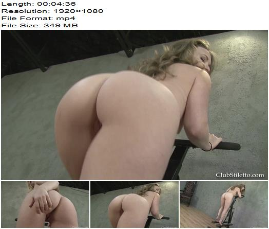 Club Stiletto  My desperate Ass Lover  Fetish preview