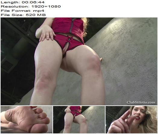 Club Stiletto  Shrunken Foot Worshipers Last Orgasm  Footworship preview