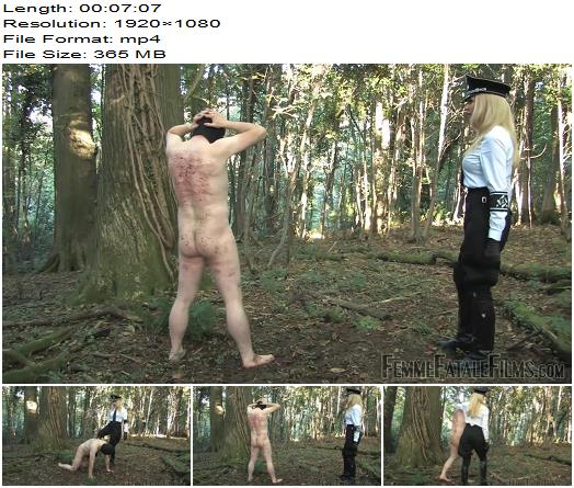 Femme Fatale Films  Mistress Eleise de Lacy  Out in the Cold  Complete Film  Kicking preview