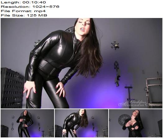 Goddess Alexandra Snow  Teaching the Male  Humiliation preview