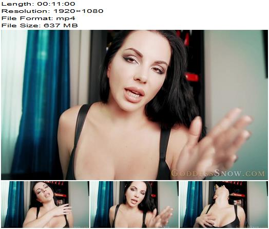 Goddess Alexandra Snow in video 'Beautiful Nothingness Trance'  - Findom Online, Financial Domination