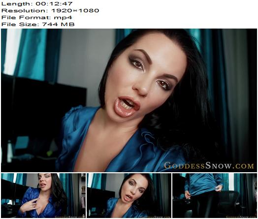 Goddess Alexandra Snow in video Workday Escape Trance  preview