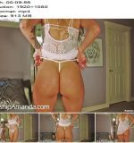 Goddess Amanda starring in video 'Lingerie Try On with M0mmy JOI'  - Step Mom & Step Son Fantasy, Tease And Denial