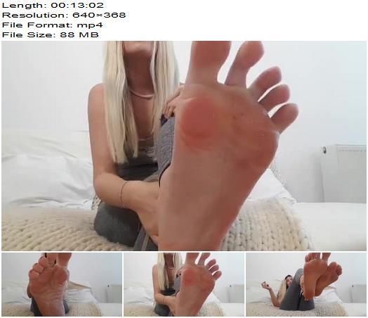 Goddess Natalie  Dirty flip flops amp foot worship preview
