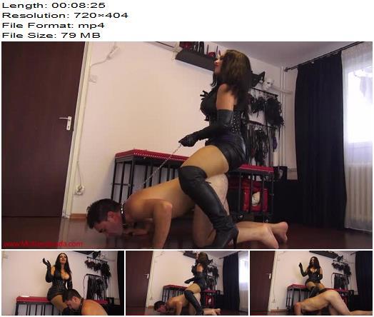 Human mop for Mistress Ezada  Human Ashtray preview