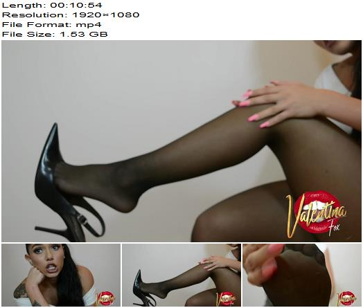 Ineedvalentinafox  Stockings JOI for My foot freak preview