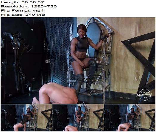 KinkyMistresses  Worship The Ass And The Boots Of Mistress Kiana preview