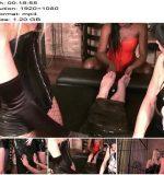 Lady Sahara, Carmen Rivera, Lady Natalie Black, Slave DD starring in video 'ABSOLUTE FEMDOM (7 of 9)' of 'Carmen Rivera' studio - Blindfold, Cage